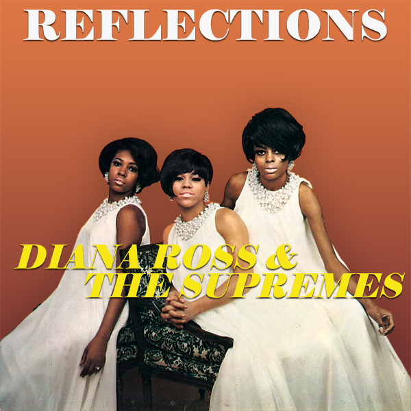 Original Cover Artwork of Diana Ross Reflectons