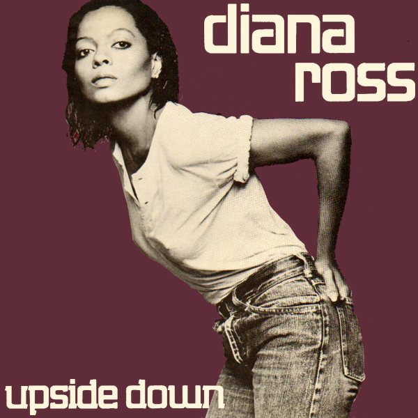 Original Cover Artwork of Diana Ross Upside Down