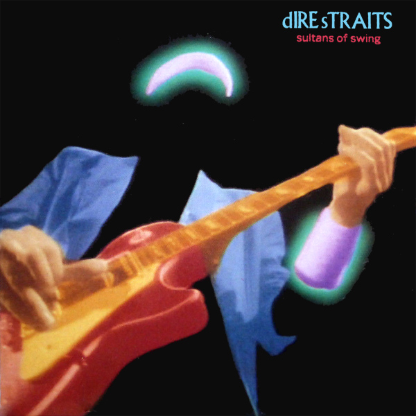 Original Cover Artwork of Dire Straits Sultans Of Swing
