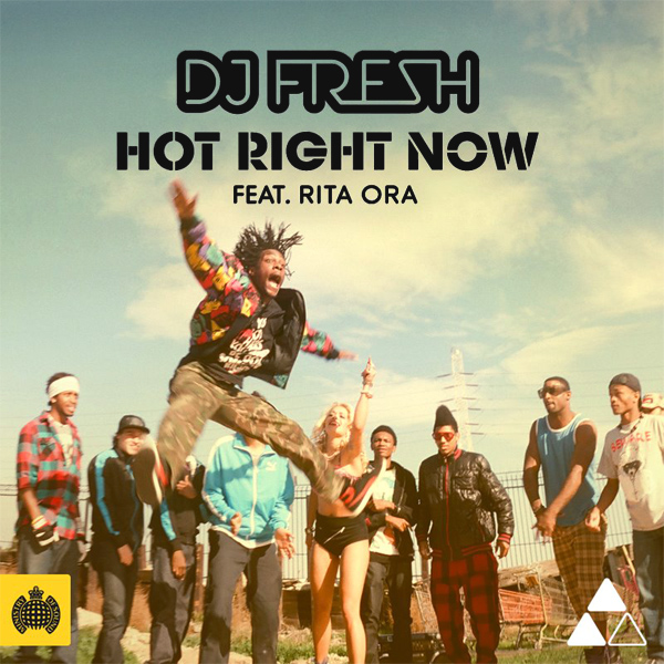 Original Cover Artwork of Dj Fresh Hot Right Now