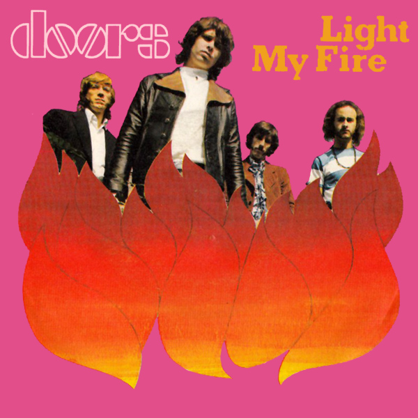 Original Cover Artwork of Doors Light My Fire
