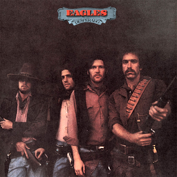 Original Cover Artwork of Eagles Desperado