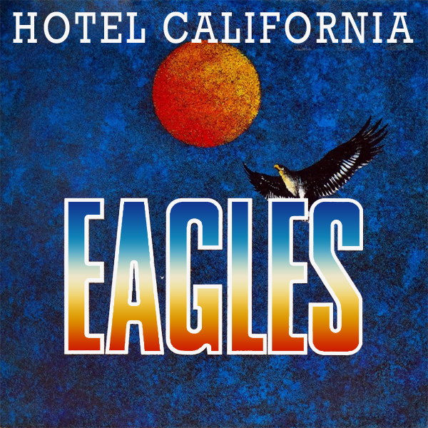 Original Cover Artwork of Eagles Hotel California