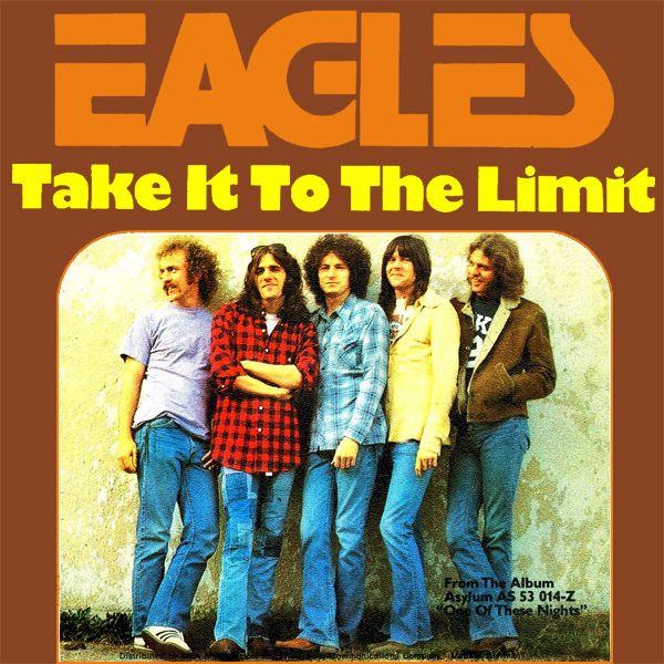 Original Cover Artwork of Eagles Take It To The Limit
