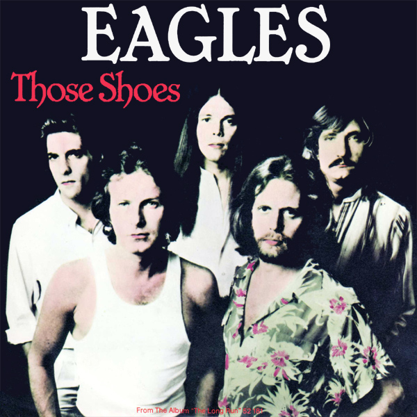 Original Cover Artwork of Eagles Those Shoes