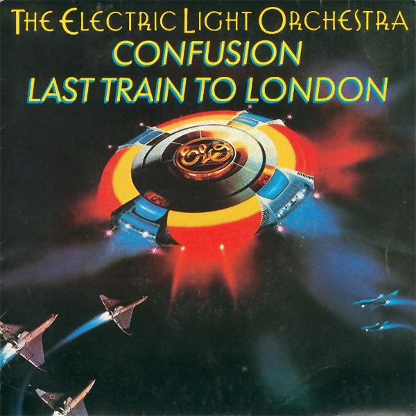 Original Cover Artwork of Elo Last Train To London