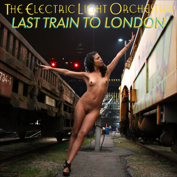 Cover Artwork Remix of Elo Last Train To London