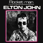 Original Cover Artwork of Elton John Rocket Man