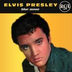 Original Cover Artwork of Elvis Presley Blue Moon