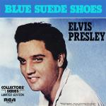 Original Cover Artwork of Elvis Presley Blue Suede