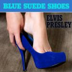 Cover Artwork Remix of Elvis Presley Blue Suede