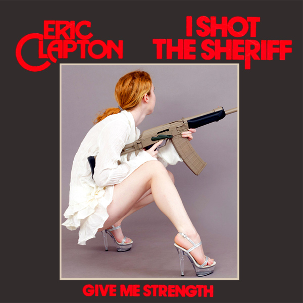 Original Cover Artwork of Eric Clapton I Shot The Sheriff Remix