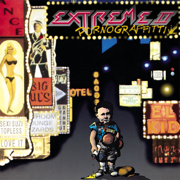 Original Cover Artwork of Extreme Pornograffitti