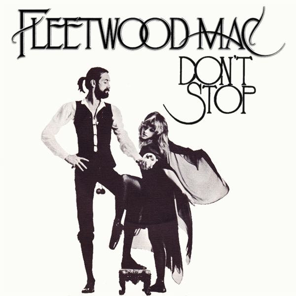 Original Cover Artwork of Fleetwood Mac Dont Stop