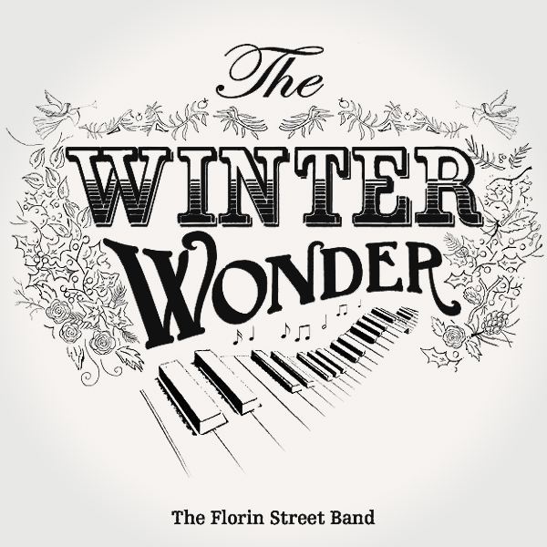 Original Cover Artwork of Florin Street Band Winter Wonder