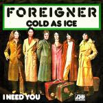Original Cover Artwork of Foreigner Cold As Ice