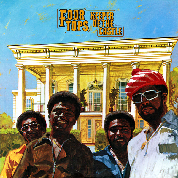 Original Cover Artwork of Four Tops Keeper Of The Castle
