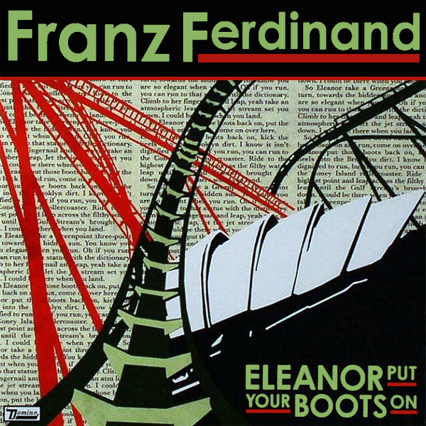 Original Cover Artwork of Franz Ferdinand Eleanor Put Your Boots On
