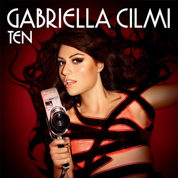 Original Cover Artwork of Gabriella Cilmi Ten