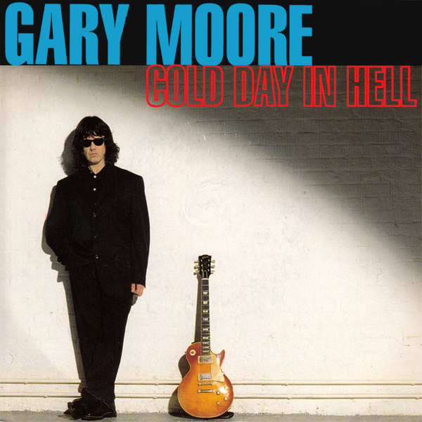 Original Cover Artwork of Gary Moore Cold Day In Hell