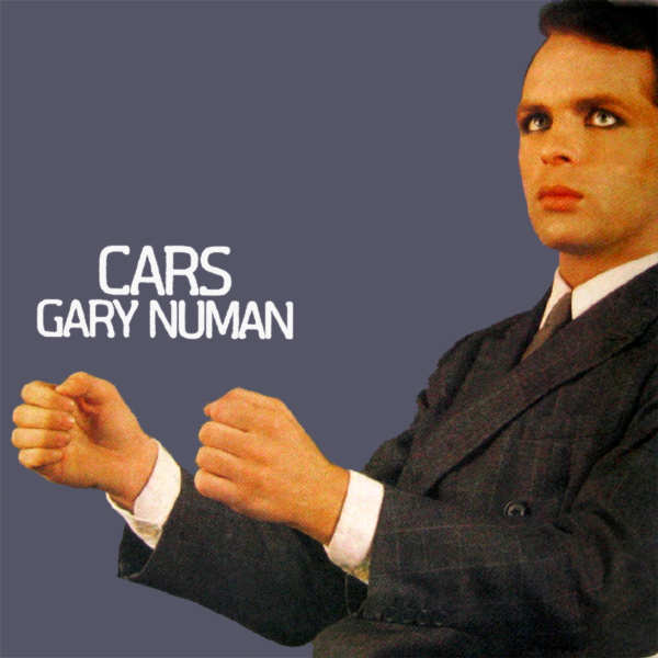 Original Cover Artwork of Gary Numan Cars