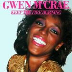 Original Cover Artwork of Gwen Mccrae Keep The Fire Burning