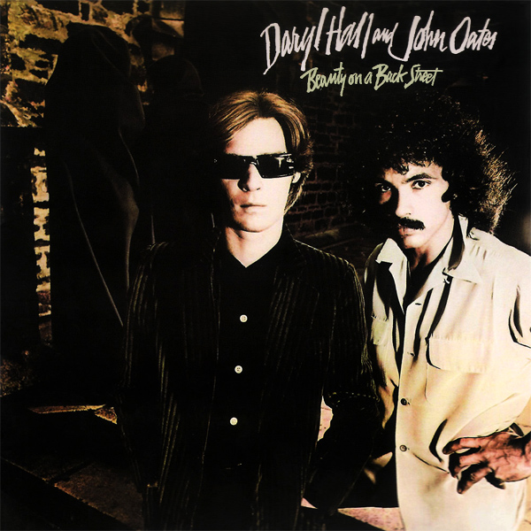 Original Cover Artwork of Hall And Oates Beauty On A Back Street