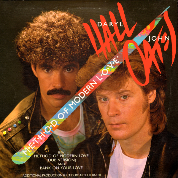 Original Cover Artwork of Hall And Oates Method Of Modern Love