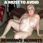 Cover Artwork Remix of Hermans Hermits A Must To Avoid
