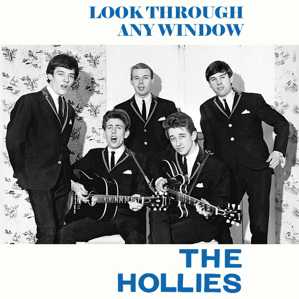 Original Cover Artwork of Hollies Look Through Any Window
