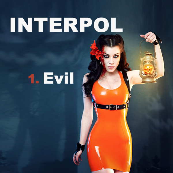 Cover Artwork Remix of Interpol Evil