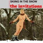 Cover Artwork Remix of Invitations Skiing In The Snow