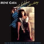 Original Cover Artwork of Irene Cara Flashdance