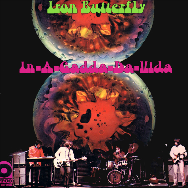Original Cover Artwork of Iron Butterfly Garden Of Eden