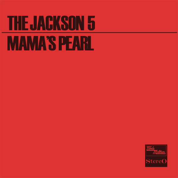 Original Cover Artwork of Jackson 5 Mamas Pearl