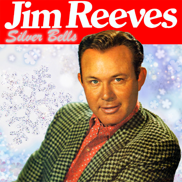 Original Cover Artwork of Jim Reeves Silver Bells