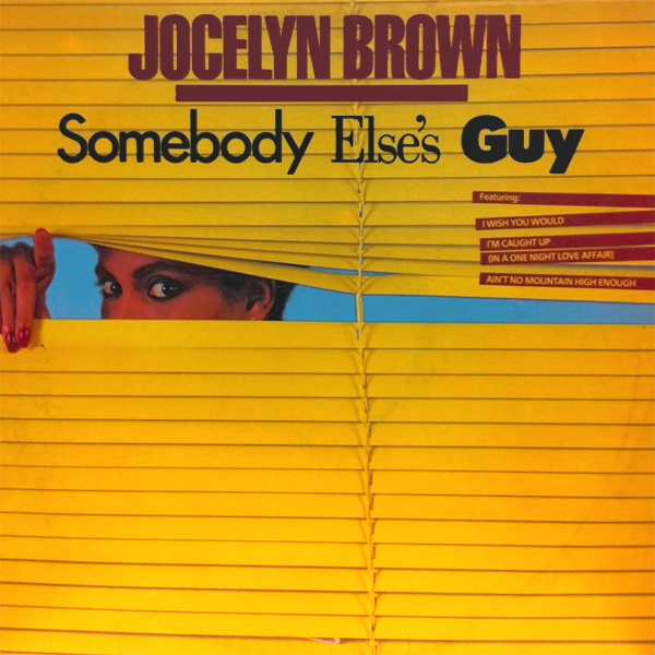 Original Cover Artwork of Jocelyn Somebody Else