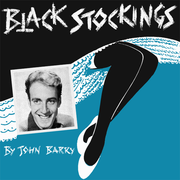 Original Cover Artwork of John Barry Black Stockings