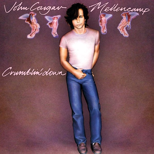 Original Cover Artwork of John Cougar Mellencamp Crumblin Down