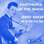 Original Cover Artwork of Johnny Duncan Footprints In The Snow