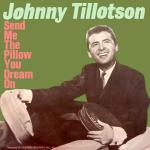 Original Cover Artwork of Johnny Tillotson Sent Me The Pillow You Dream On