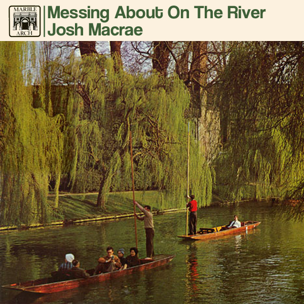 Original Cover Artwork of Josh Macrae Messing About On The River