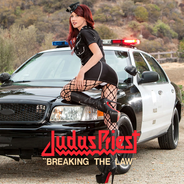 Cover Artwork Remix of Judas Priest Breaking The Law