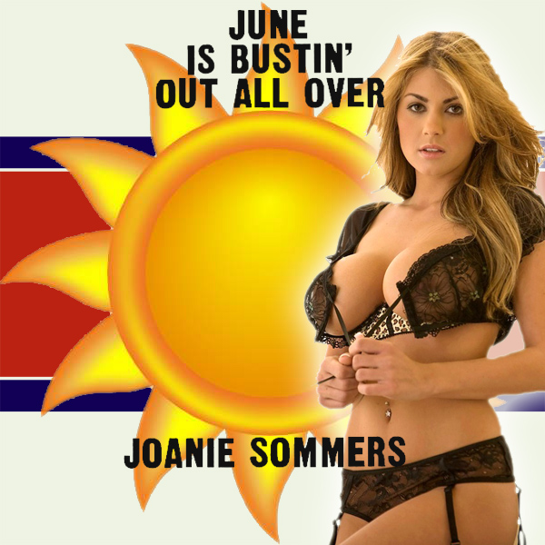 Cover Artwork Remix of June Is Bustin Out All Over Joanie Sommers