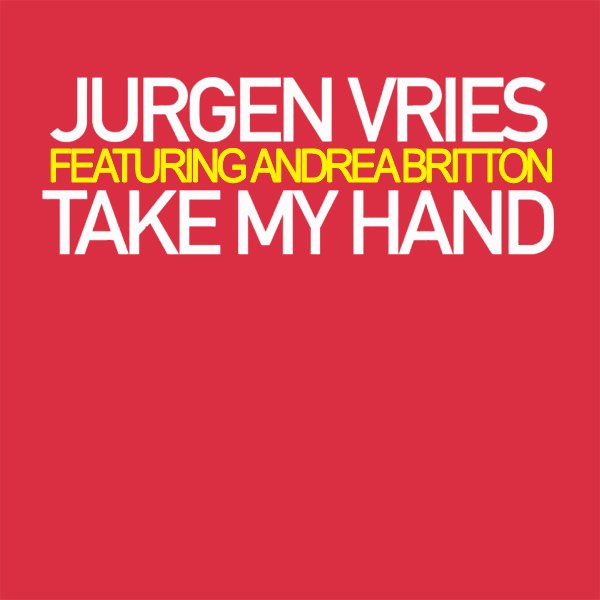 Original Cover Artwork of Jurgen Vries Take My Hand