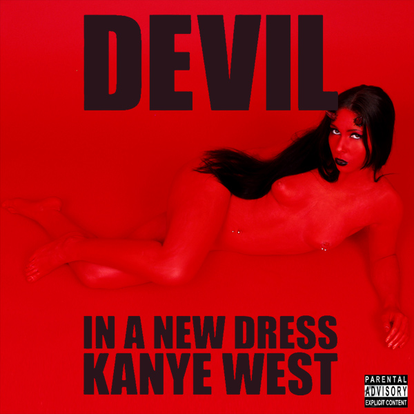 Cover Artwork Remix of Kanye West Devil Dress