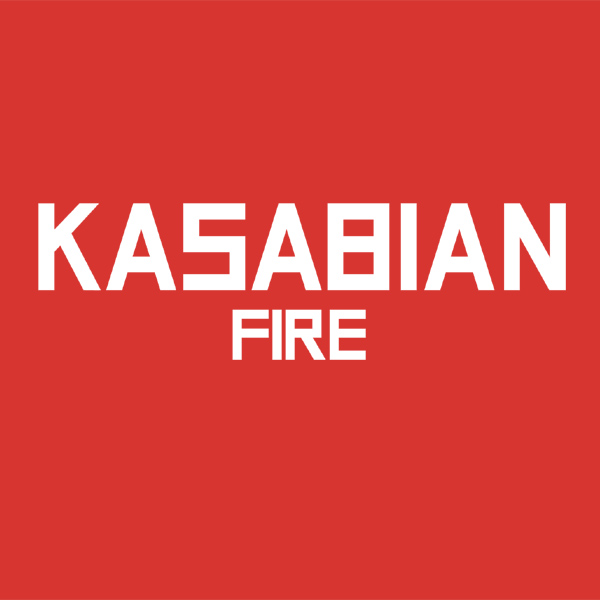 Original Cover Artwork of Kasabian Fire