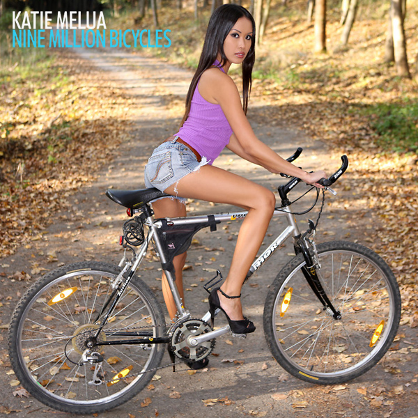 Cover Artwork Remix of Katie Melua Nine Million Bicycles