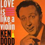 Original Cover Artwork of Ken Dodd Love Is Like A Violin