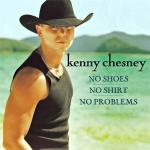 Original Cover Artwork of Kenny Chesney No Shoes No Shirt No Problems